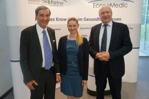 Von links: Herr Dr. Munte, Frau Schlüchtermann und Herr Prof. Ulrich